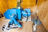 100 Kw hydro turbine at Laig,Eigg,UK
