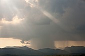 Thunderstorm,Langdale Pikes,UK