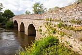 The old bridge across the River Avon