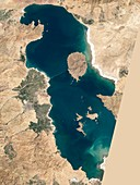 Lake Urmia,Iran,1998,satellite image