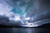 Stormy sky,Norway