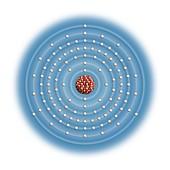 Ununtrium,atomic structure