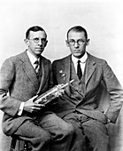 Davisson and Germer,US physicists
