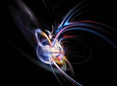 Earth's magnetosphere,conceptual image