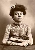 Maud Wagner,tattoo artiste