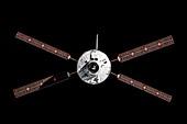 ATV Albert Einstein approaching the ISS