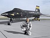 North American X-15 test plane