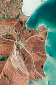 Danube Delta,satellite image