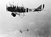 Curtiss JN-4H research aircraft