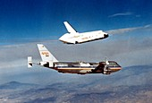 Space Shuttle prototype testing,1977
