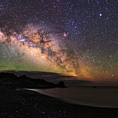 Milky Way over La Palma,Canary Islands