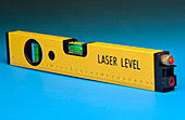 Laser spirit level