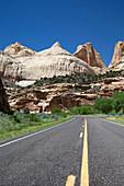 Navajo Sandstone formations,USA