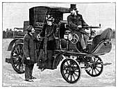 Serpollet steam car,19th century