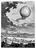 First manned balloon flight,1783