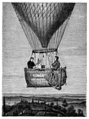 Glaisher-Coxwell balloon flight,1860s