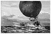 Siege of Paris balloon flight,1870