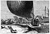 'Zenith' balloon crash,1875