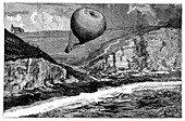 'Saladin' balloon crash,1881