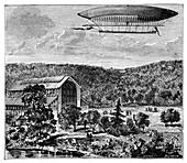 'La France' electric airship,1884