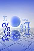Mathematics,illustration