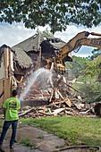 Vacant home demolition