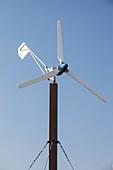 Wind turbine in Myrina,Lemnos,Greece
