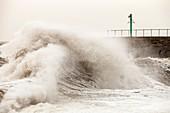Storm at Workington