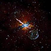 Centaurus A,Chandra X-ray image