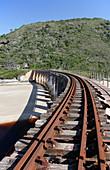 Kaaimans River rail bridge,South Africa