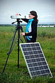Solar radiation monitoring