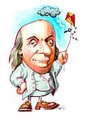 Benjamin Franklin,US scientist