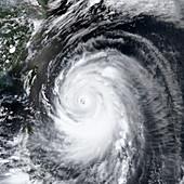 Super typhoon Neoguri,satellite image