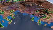 West Antarctic Ice Sheet melting