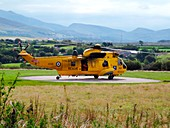 Search and rescue helicopter,UK