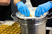Edible marijuana products factory