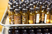 Bottles of marijuana extract