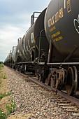 Oil tanker train,USA