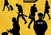 Anti-terrorism police,conceptual image