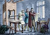 Johann Gutenberg,German inventor