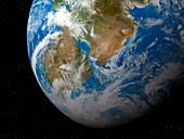 Kepler-62f,illustration