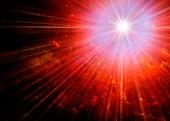 Big Bang,conceptual image
