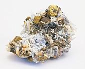 Pyrrhotite with chalcopyrite