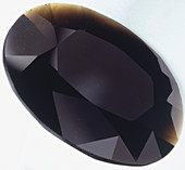 Oval Brilliant-cut Tektite