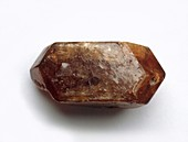 Tetragonal zircon crystal,close-up