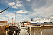 The Ferry Terminal in Hull