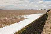 Contaminated water entering the Humber