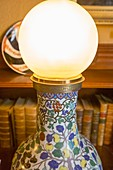 An old electric lamp,first in the world