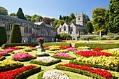 The formal gardens of Lanhydrock