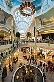 Christmas shoppers in the Trafford Centre